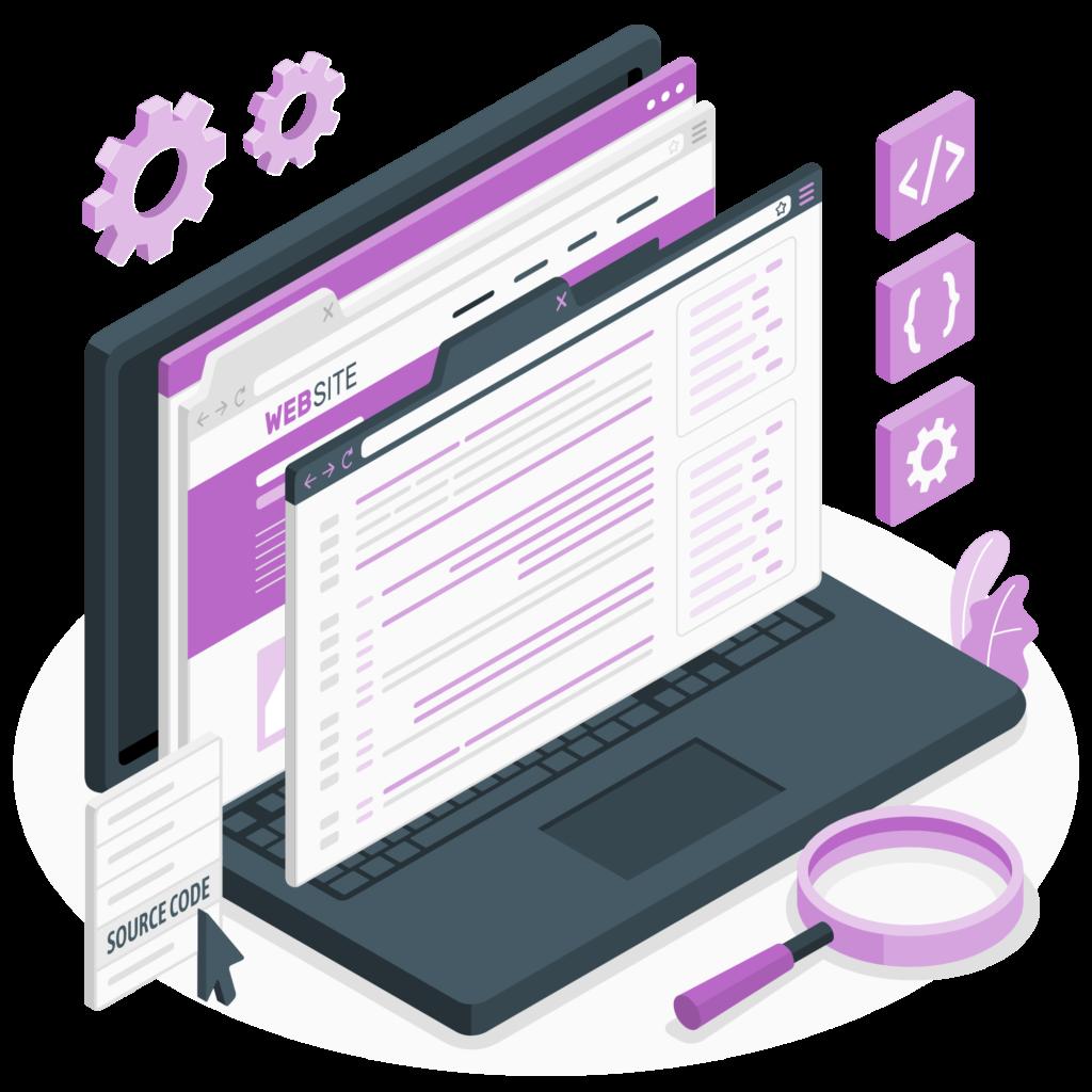 خدمات طراحی سایت ساده دیزاینر